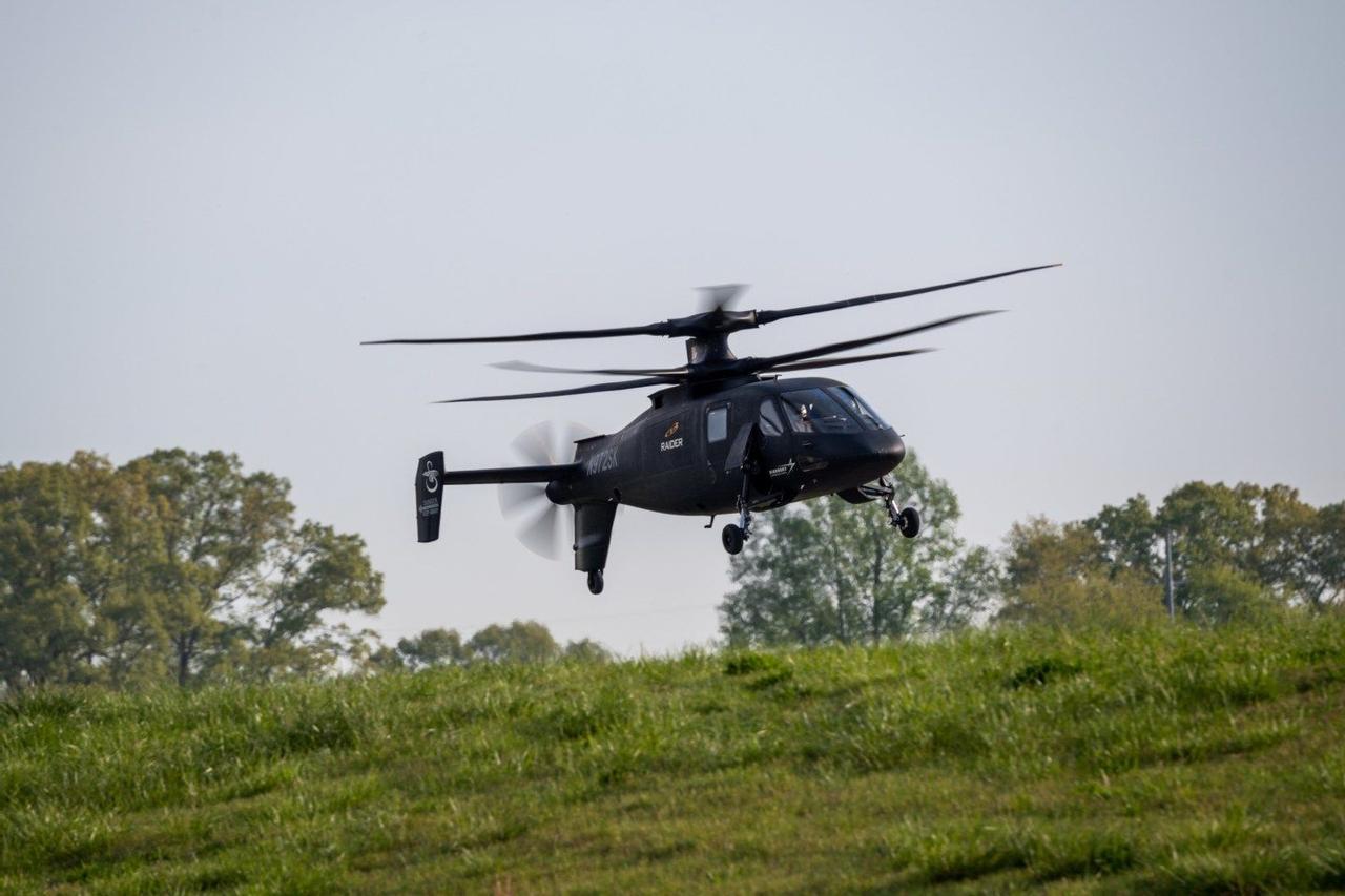 Вертолет Sikorsky S-97 Raider удивил своими возможностями армию США