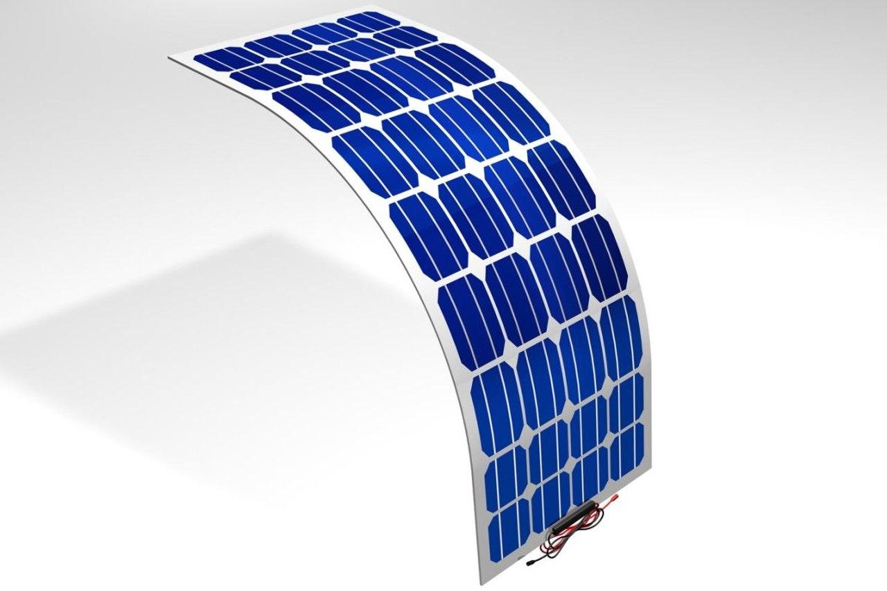 Корейские инженеры разработали солнечный элемент который изгибается пополам, не ломаясь