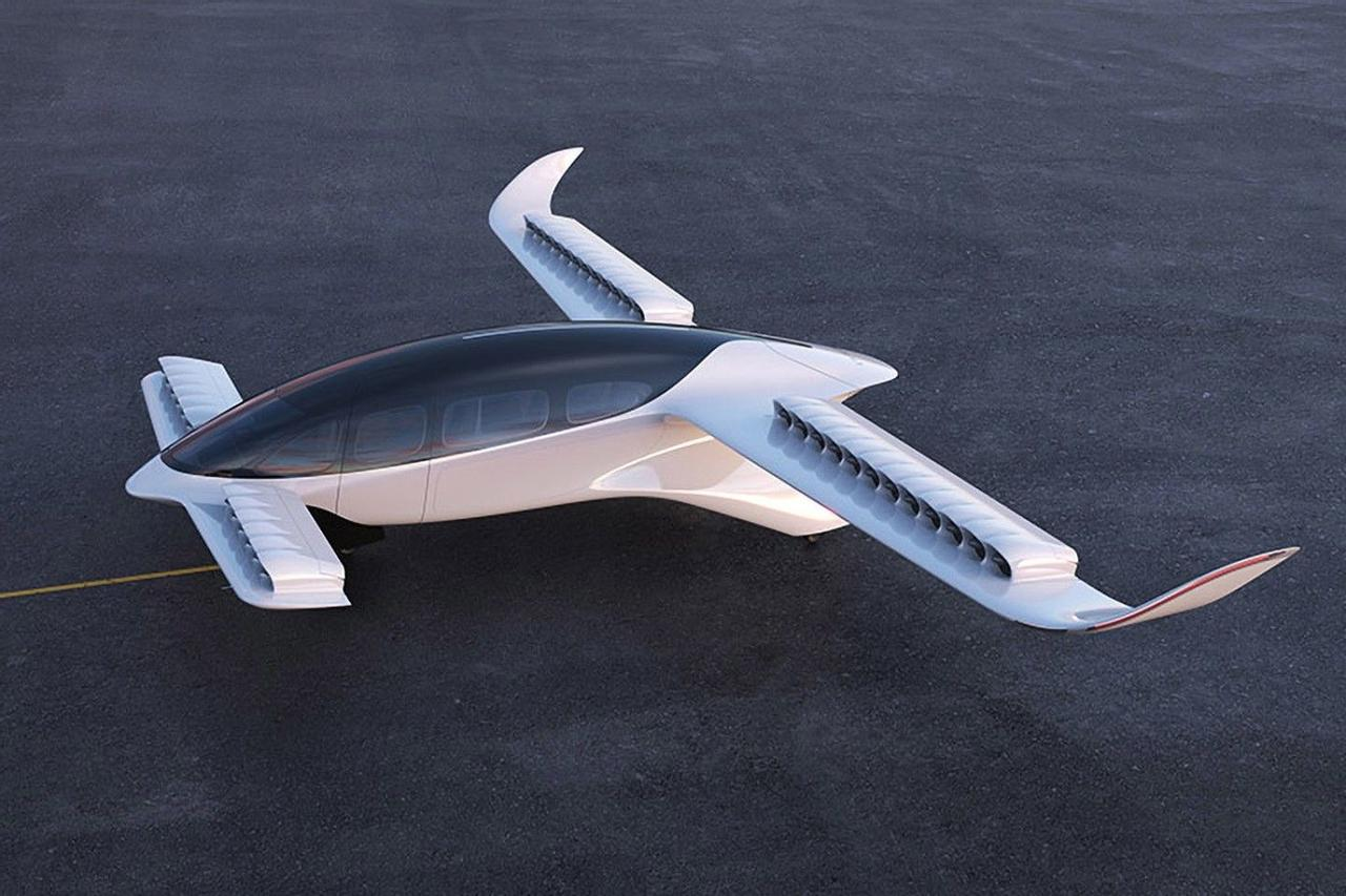 Lilium представила пассажирский 7 - местный eVTOL, летающее такси, с дальностью полета более 250 км