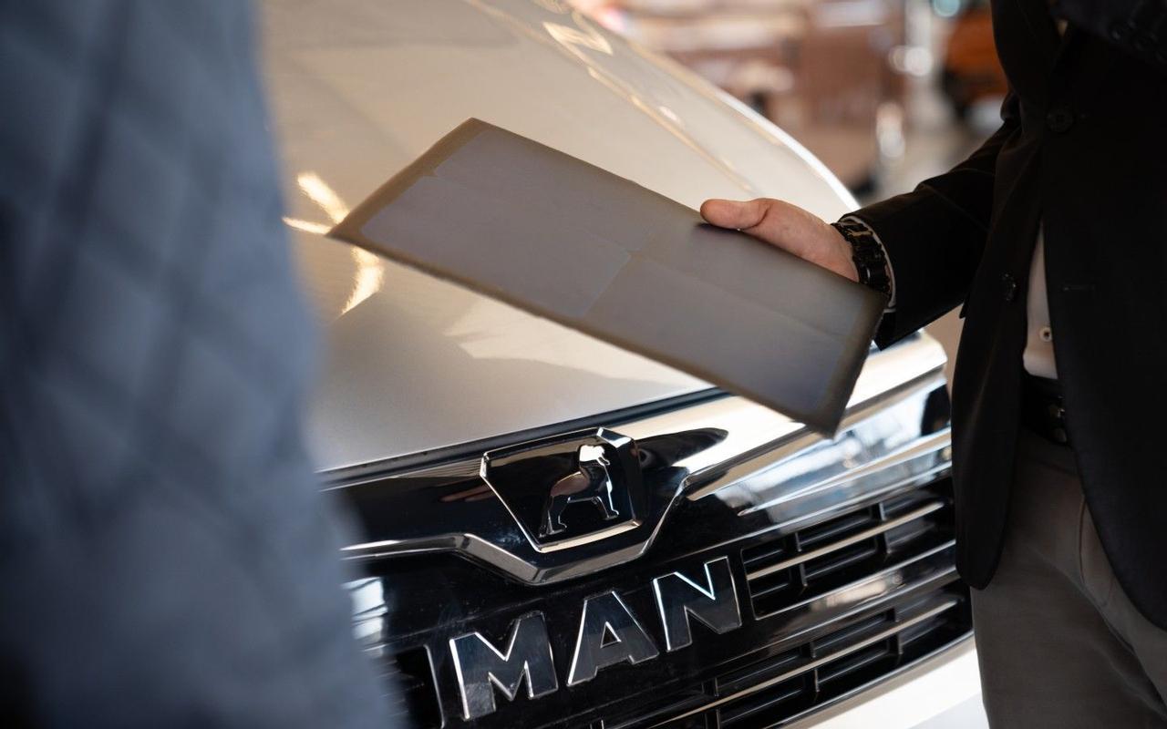 MAN и Sono Motors тестируют интеграцию солнечных модулей в электрический фургон для увеличения пробега