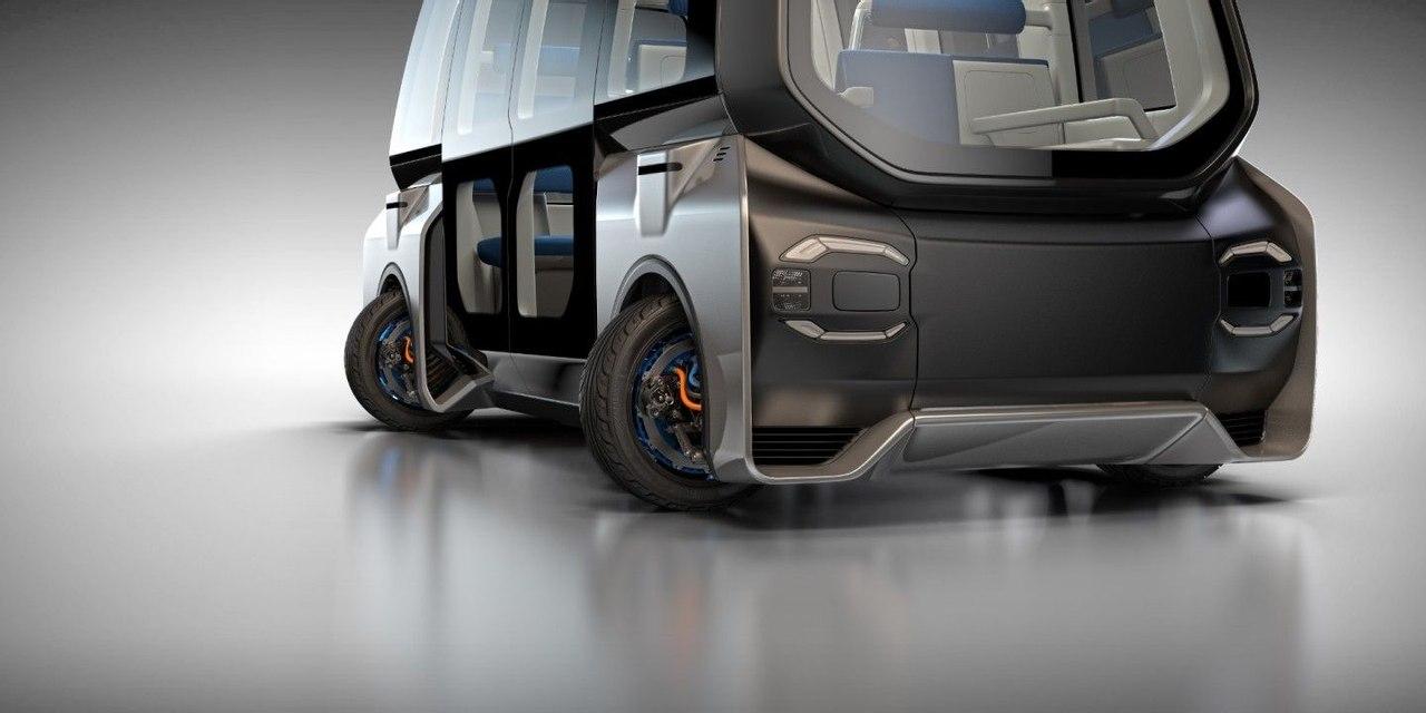 Protean представил универсальные колеса - моторы которые ездят во все стороны