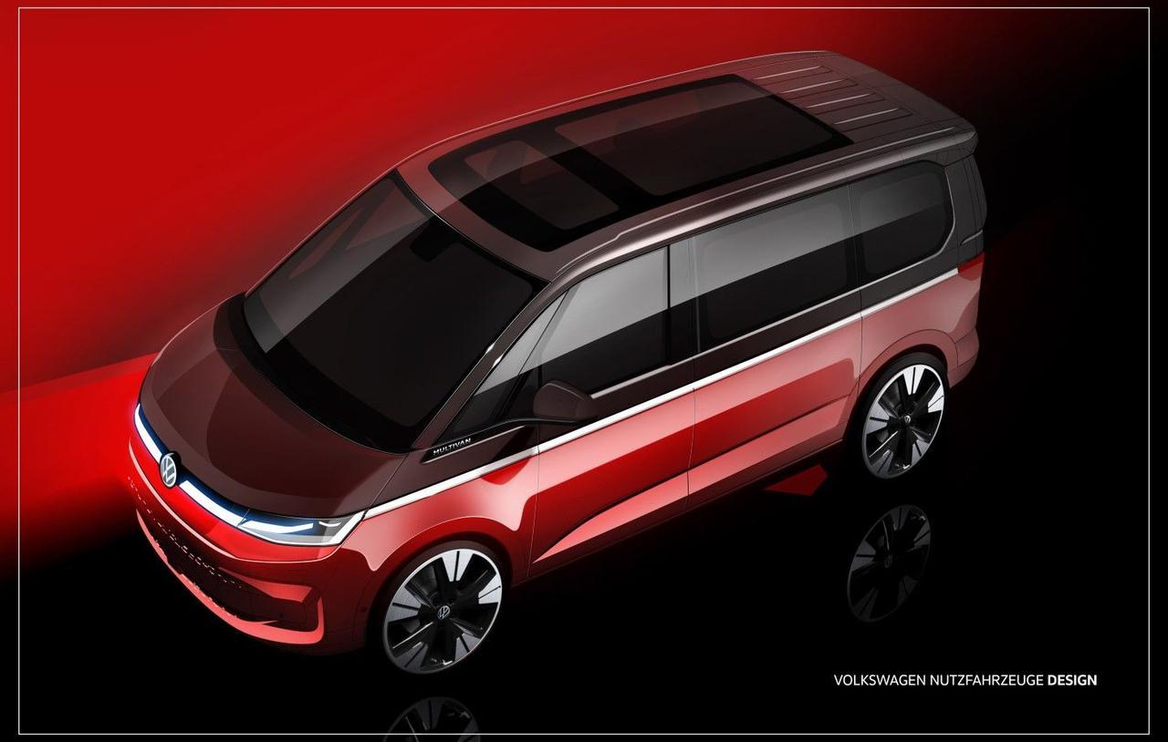 Volkswagen рассказал о многофункциональных возможностях нового автомобиля T7 Multivan