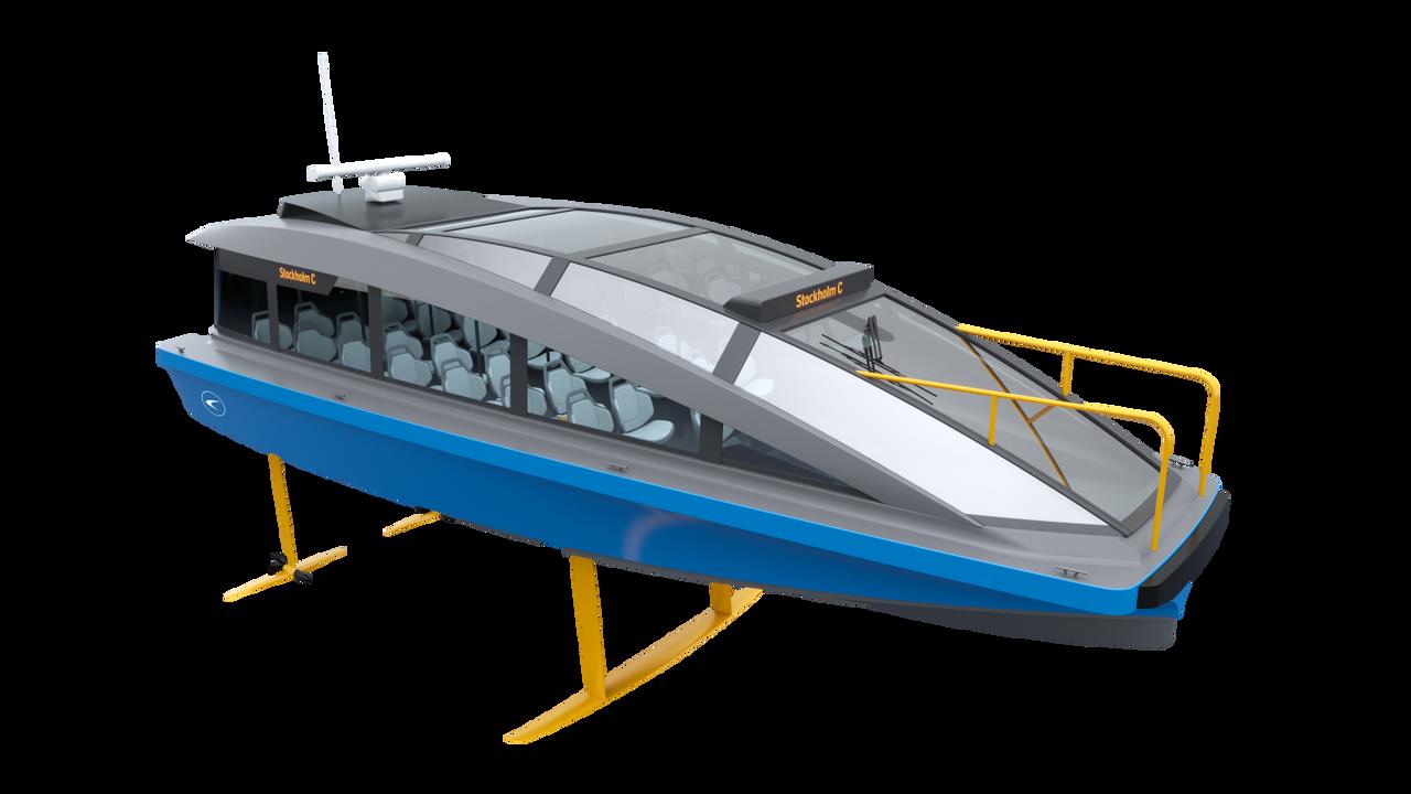 Электрический паром на подводных крыльях станет самым быстрым пассажирским судном в мире