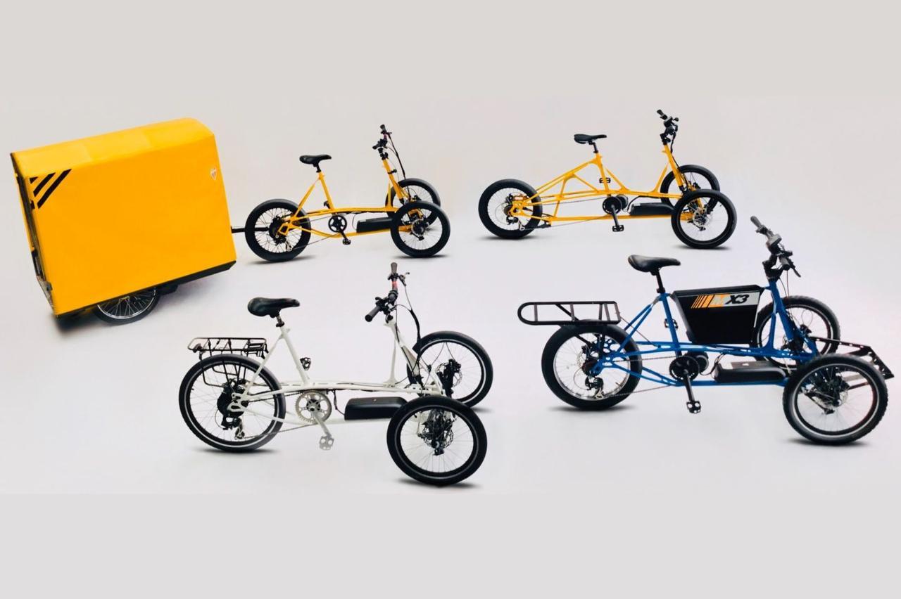 Трехколесные электрические велосипеды теперь смогут перевозить до 200 кг