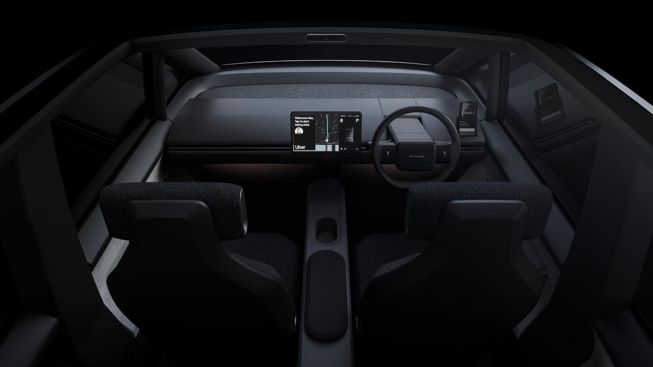 Компания Arrival вместе с Uber разрабатывают электромобиль для перевозки пассажиров