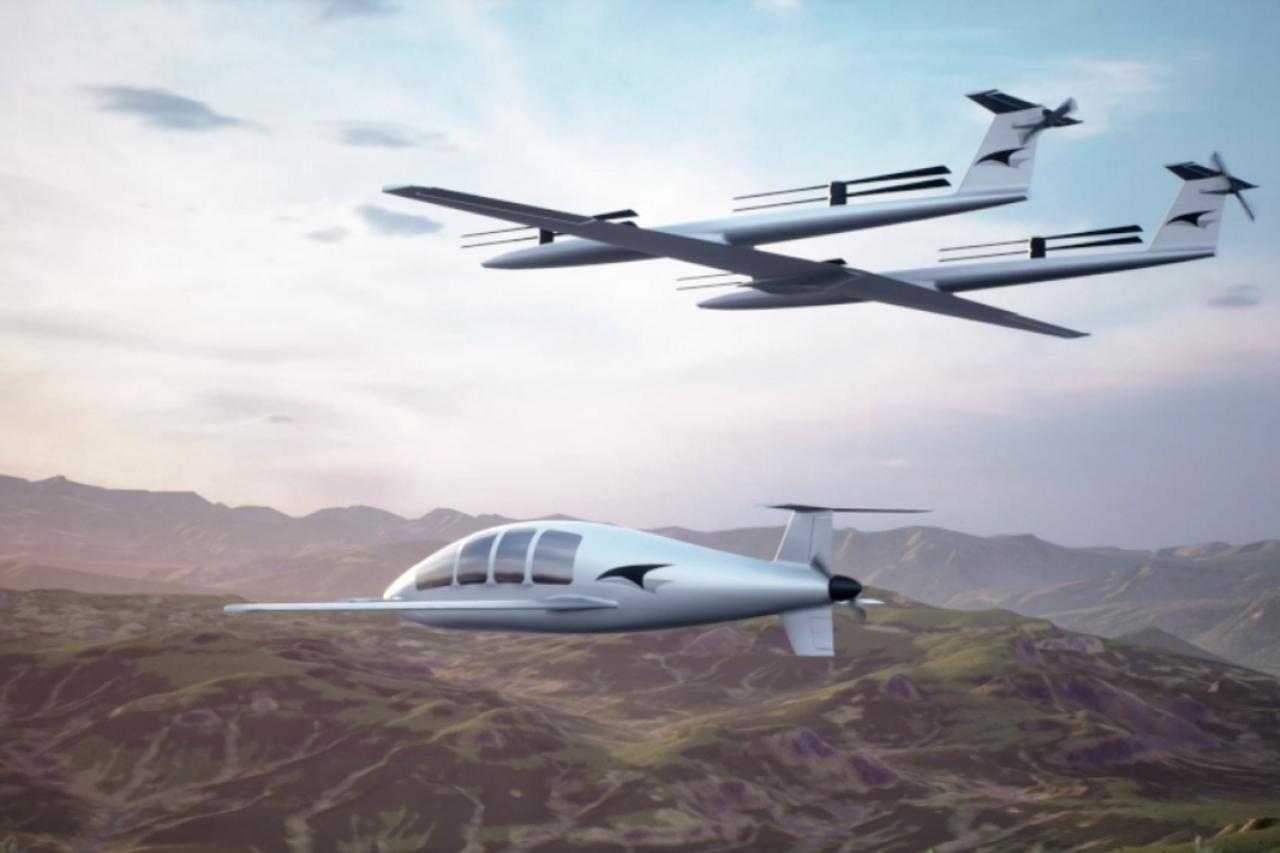 Инженеры из SpaceX предложили свое видение развития электрических самолетов eVTOL
