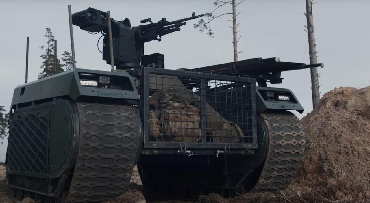 Боевые роботы Milrem поддержат огневой мощью, уменьшат потери на поле боя и эвакуируют раненых