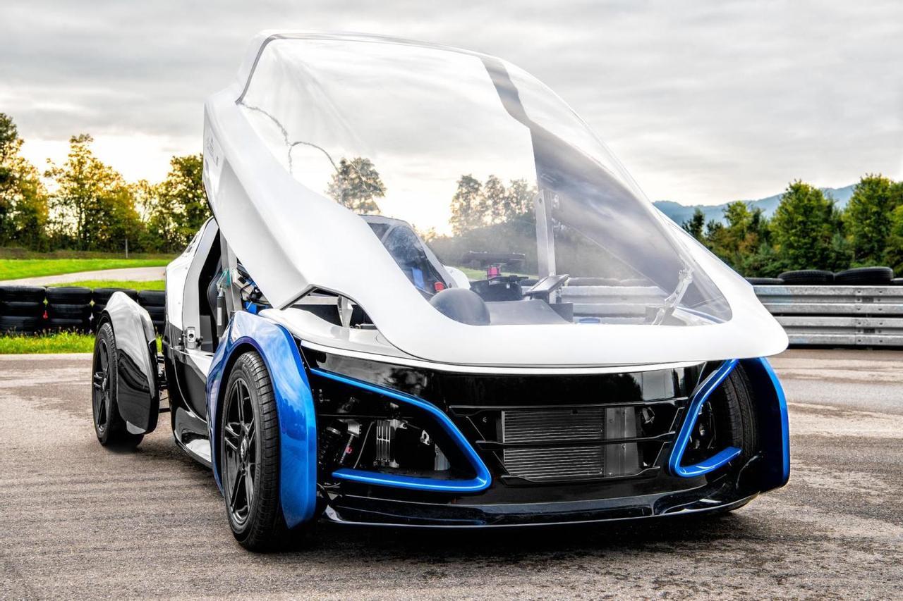 Благодаря малому весу и электрической силовой установке на водороде SLRV обеспечит эффективную поездку