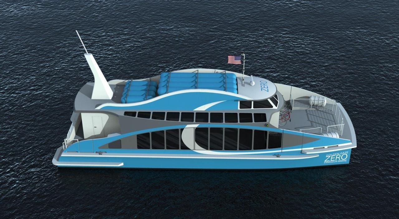 Первый в мире паром на водородных топливных элементах вскоре начнет перевозить пассажиров