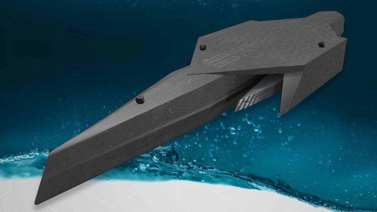 Интеллектуальные авианосцы, подводные командные центры, боевые роботы - концепция автономного военно-морского флота Великобритании