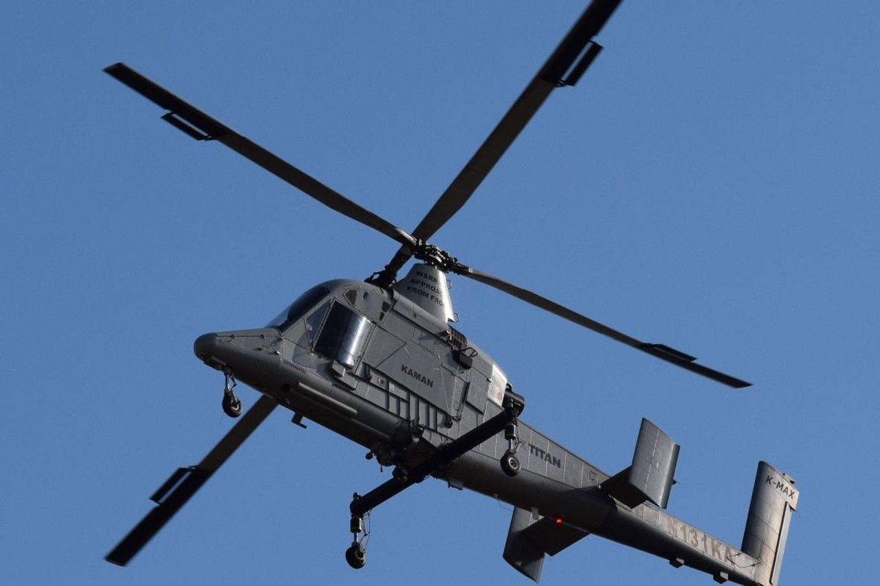K-Max Titan - первый в мире беспилотный вертолет большой грузоподъемности для коммерческого использования