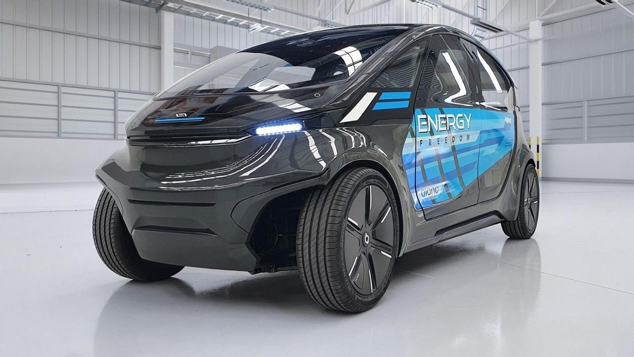 Беспилотный, легкий электромобиль LS-EV будет работать от солнечной энергии и обладать высокой энергоэффективностью