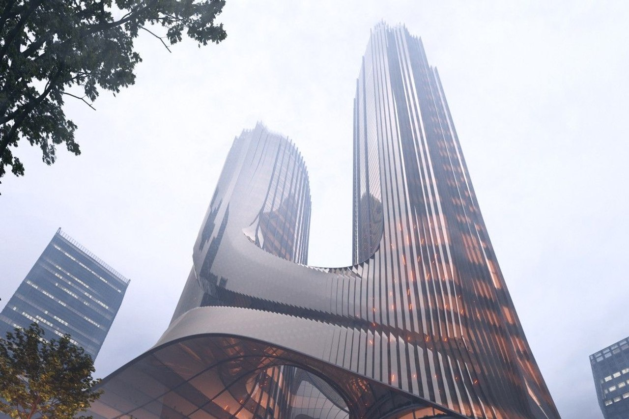Tower C от Zaha Hadid украсит панораму Шэньчжэня двумя башнями соединенными небесными мостами