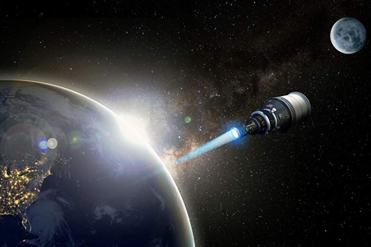В Пентагоне создают ядерный двигатель для космических ракет, который вдвое сократит время полета на Луну и Марс