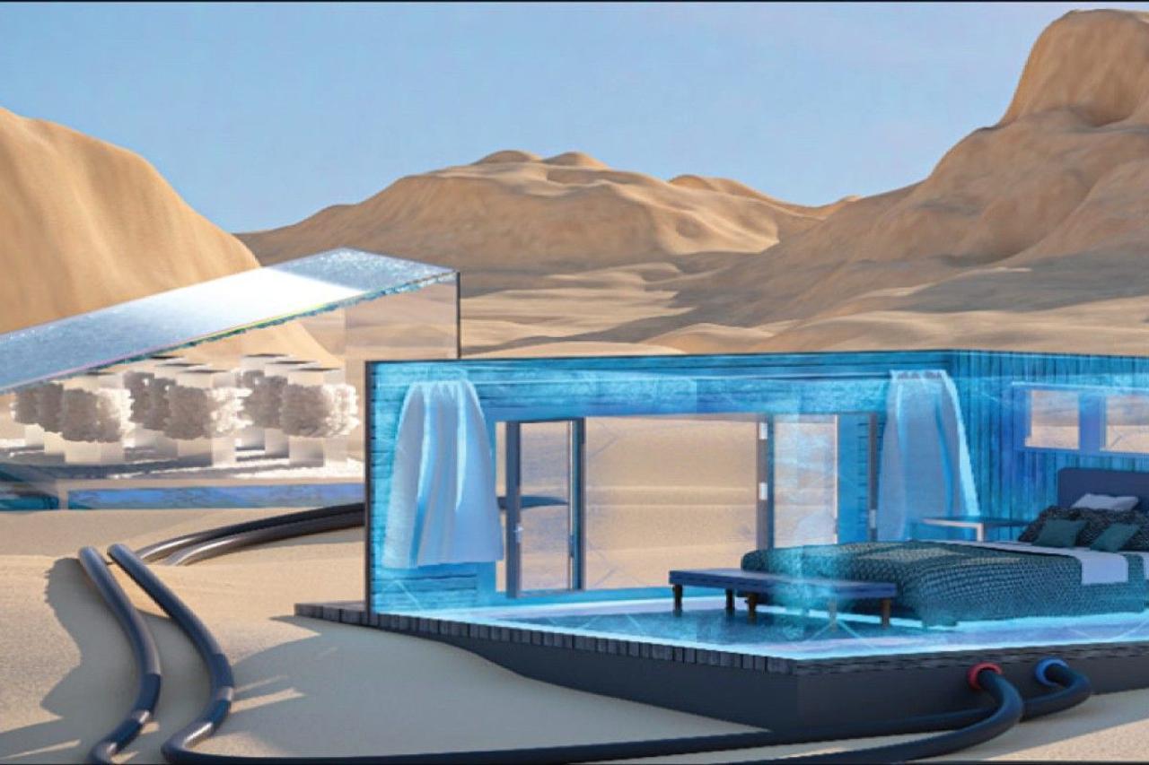 Солнечная энергия и соленая вода смогут охлаждать здания, без использования электричества