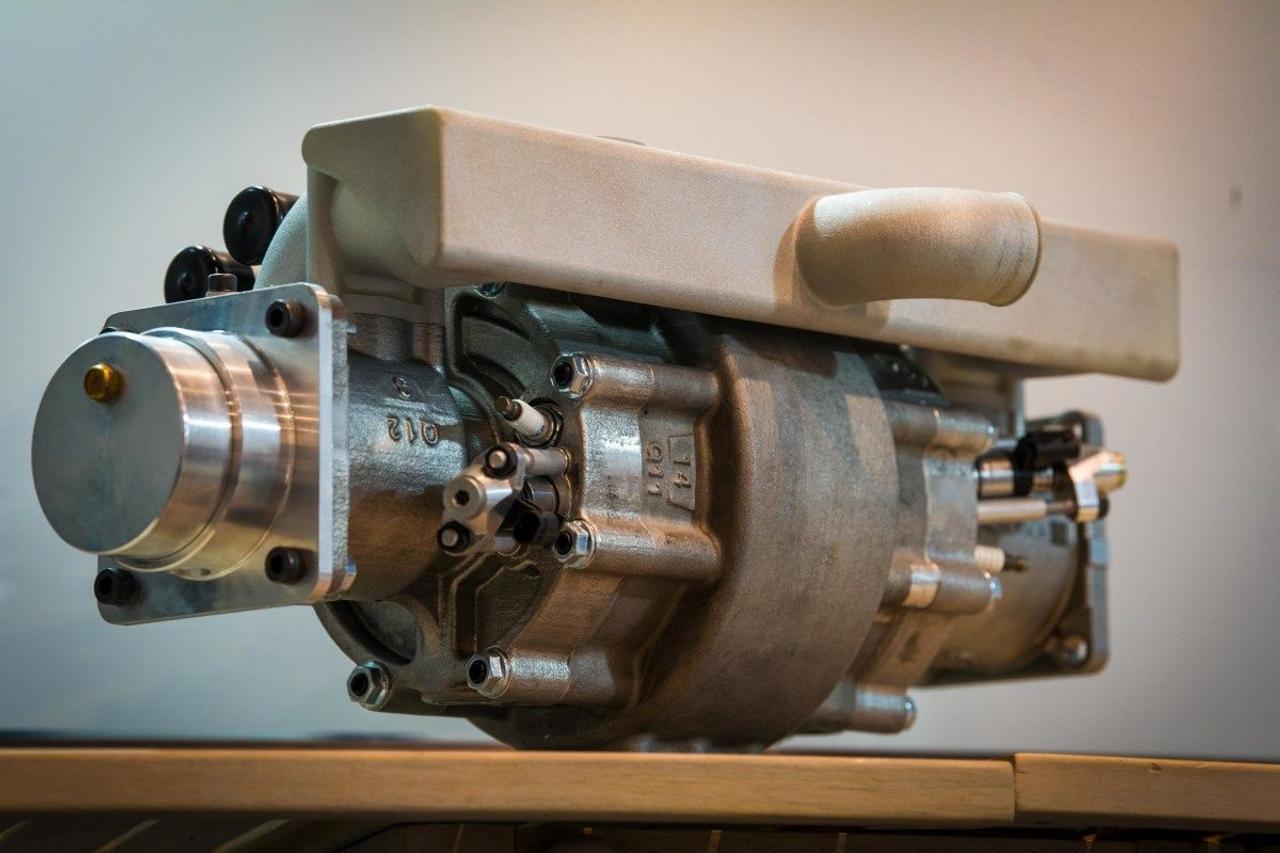 Однопоршневой, водородный микродвигатель Aquarius, заменит нынешние двигатели в электромобилях