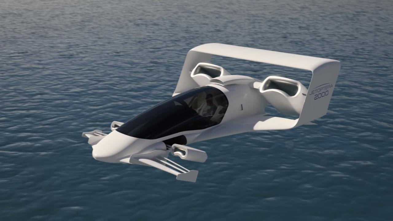 Jetoptera заявляет, что ее «жидкостная силовая установка» предлагает уникальные возможности для самолетов вертикального взлета и посадки