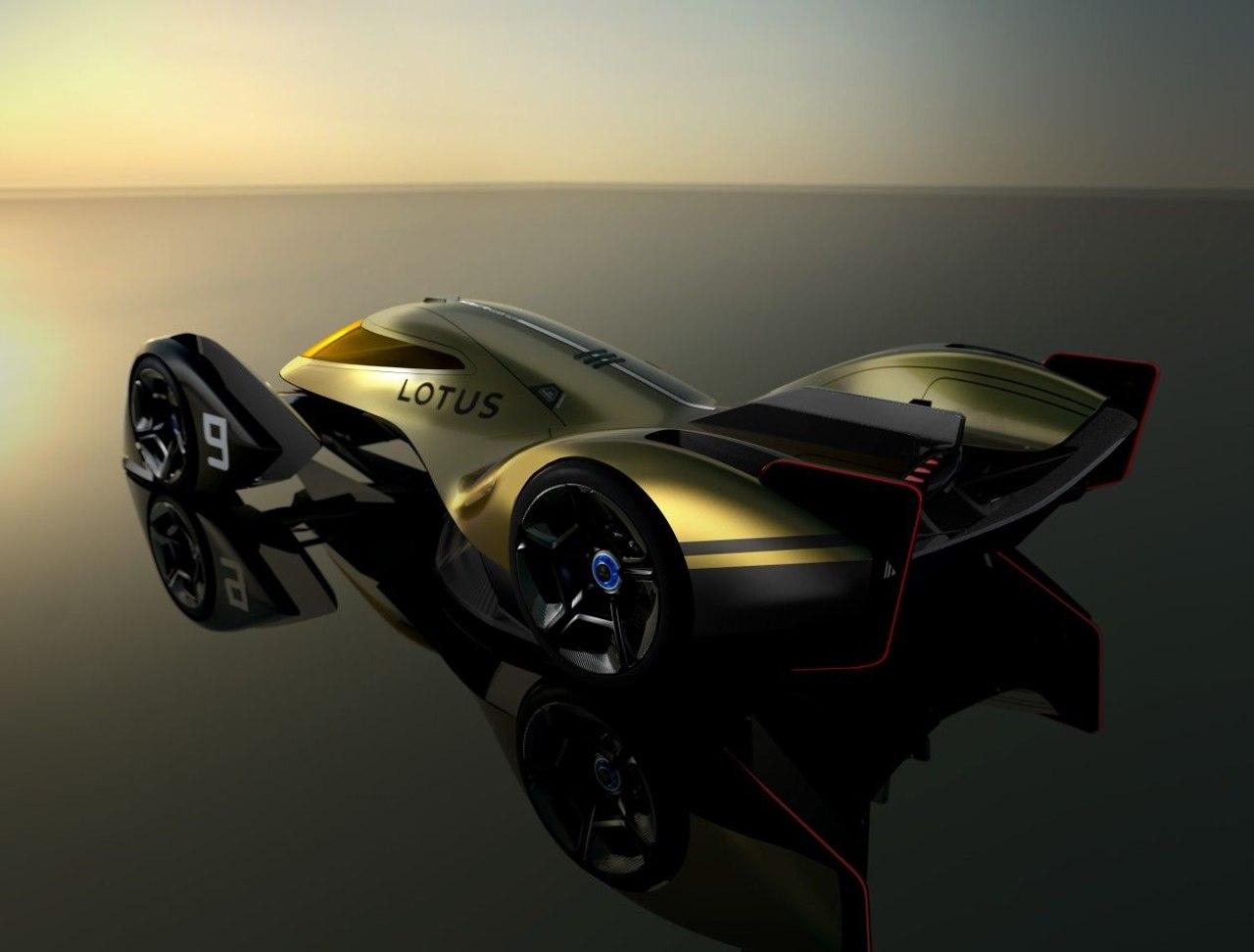 Lotus представил видение аэродинамического автомобиля 2030 Le Mans Vision с кабиной истребителя и полным электроприводом