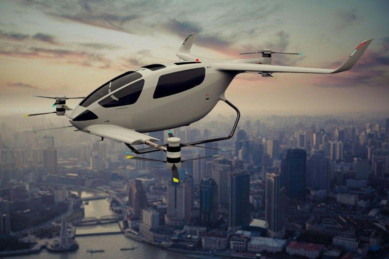 Y6S Plus - шестиместный концепт воздушного такси eVTOL от британской компании Autonomous Flight