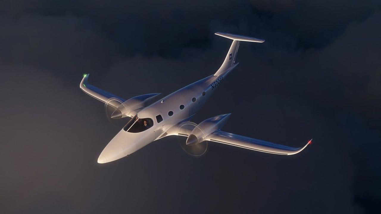 Bye Aerospace представил восьмиместный электрический самолет eFlyer 800 с дальностью полета  926 км