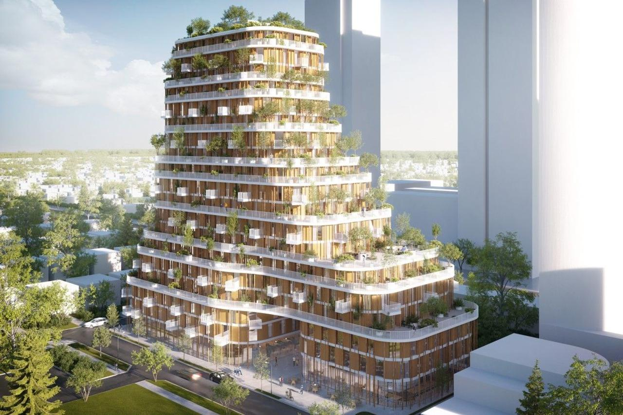 В Ванкувере построят небоскреб из дерева и бамбука, по высоким стандартам Passivhaus