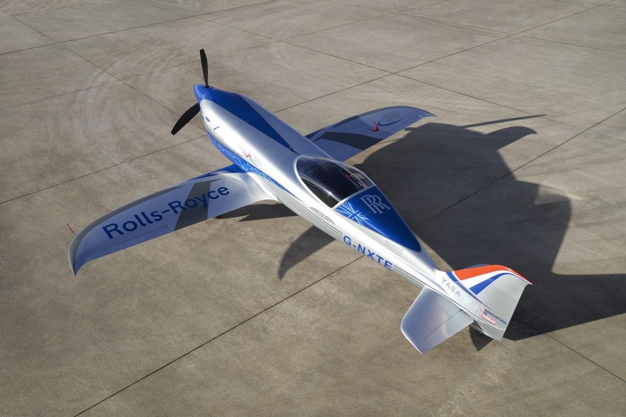 Rolls Royce создал самый быстрый электрический самолет в мире