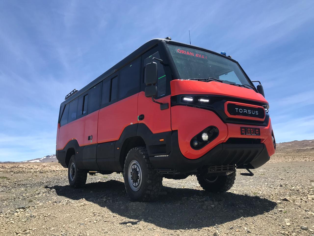 Torsus обновил свой внедорожник - автобус Praetorian