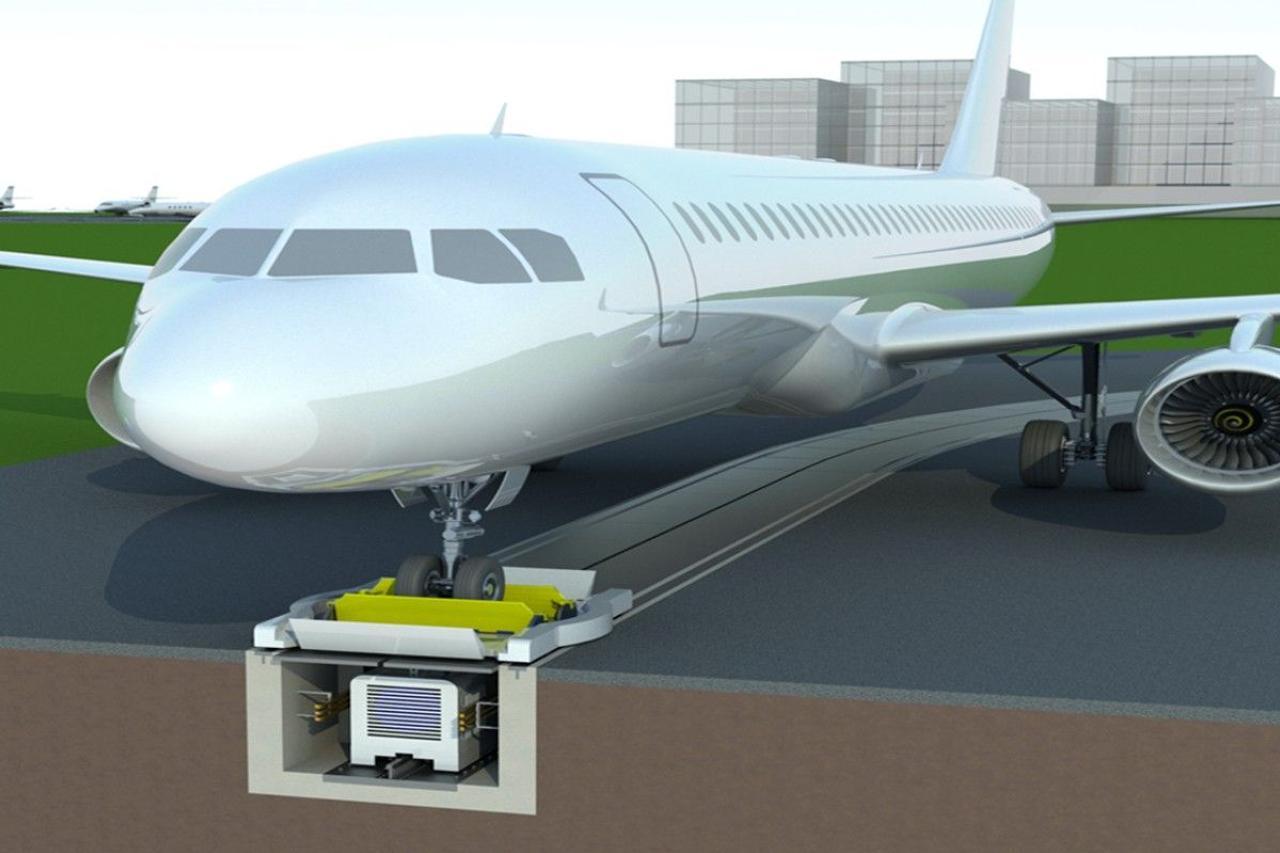 Технология буксировки самолетов по взлетной полосе сэкономит топливо и снизит выбросы CO2