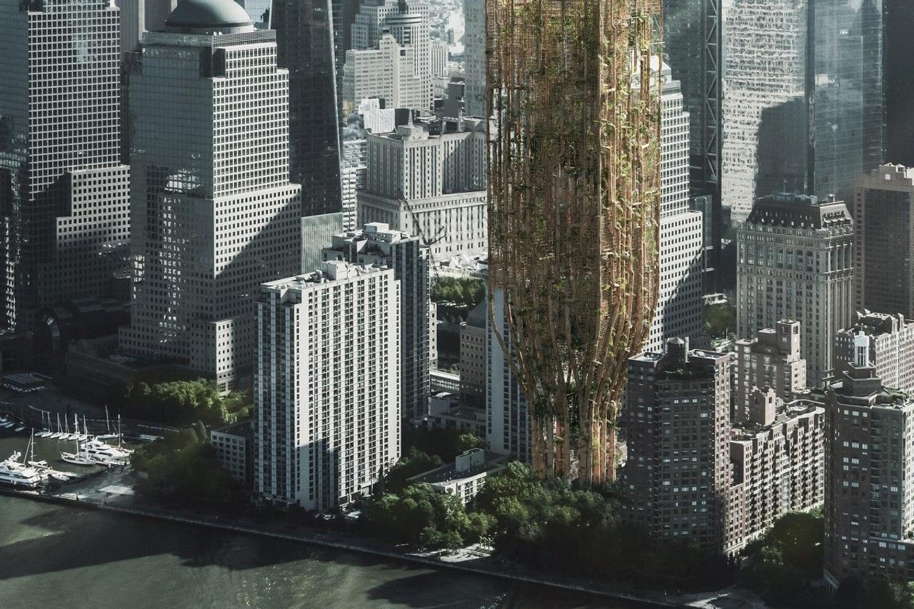 Украинские архитекторы победили в международном конкурс небоскребов eVolo 2021 года с проектом «Живой небоскреб для Нью-Йорка»