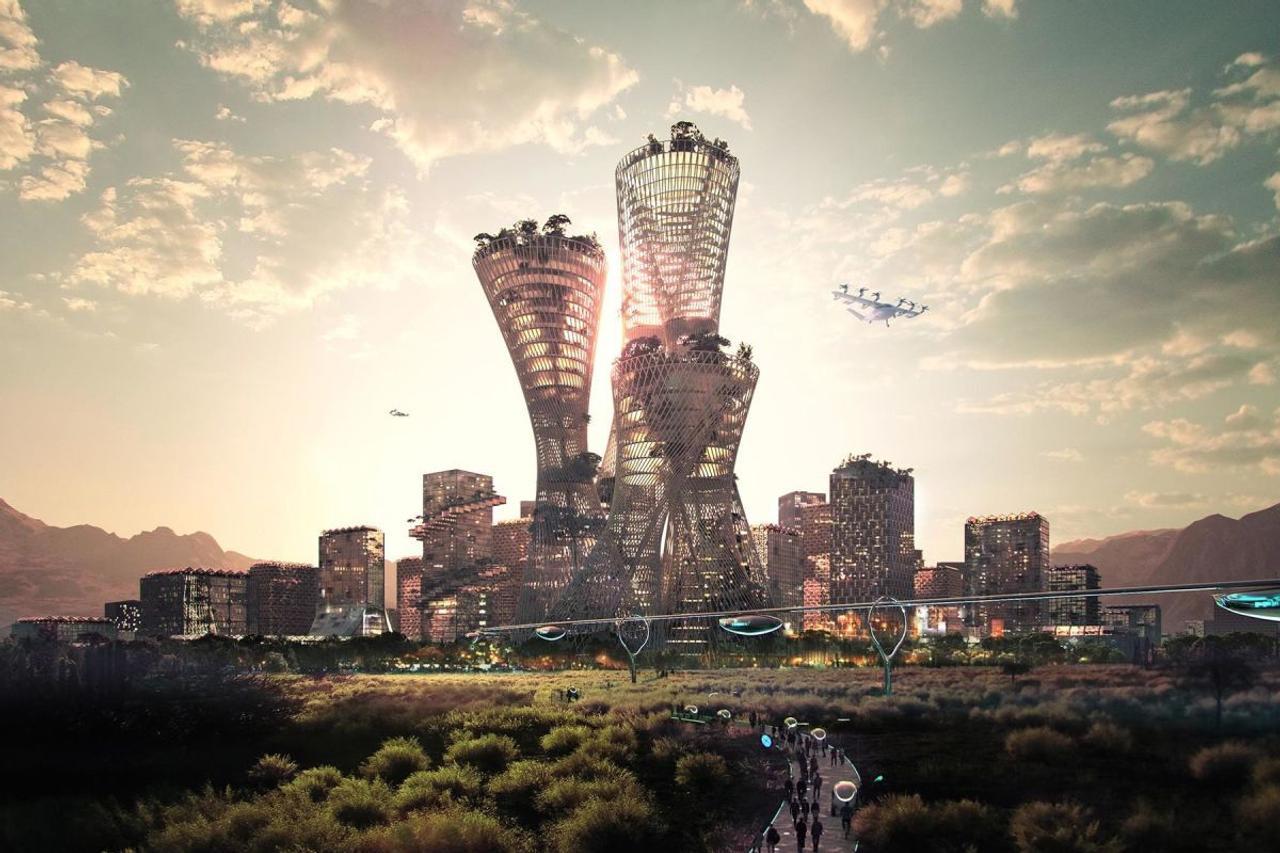 Американский миллиардер хочет построить новый «автономный и чистый» город Telosa