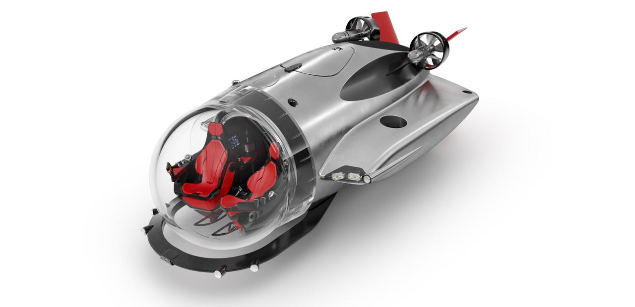 U-Boat Worx выпустила самую быструю электрическую подводную лодку для подводных прогулок