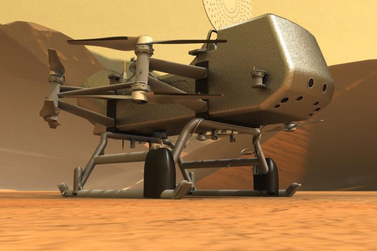 Ученые готовят миссию NASA Dragonfly по исследованию Титана, основная цель поиск признаков жизни