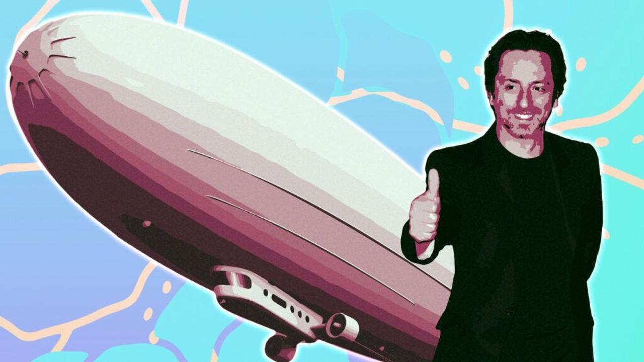 Дирижабль Сергея Брин будет использовать самый большой водородный топливный элемент мощностью 1,5 мегаватта