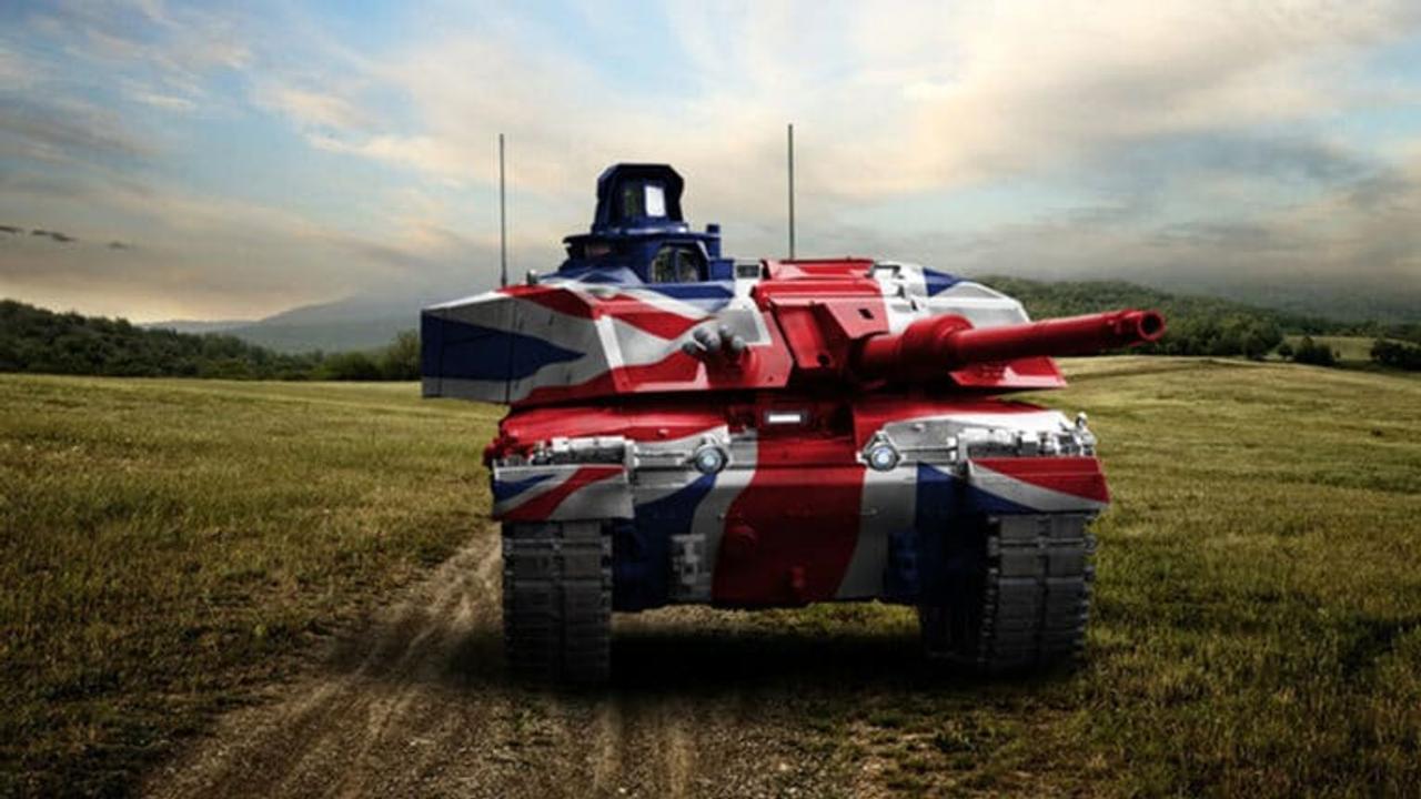 Британская армия создает цифровые боевые танки нового поколения Challenger 3