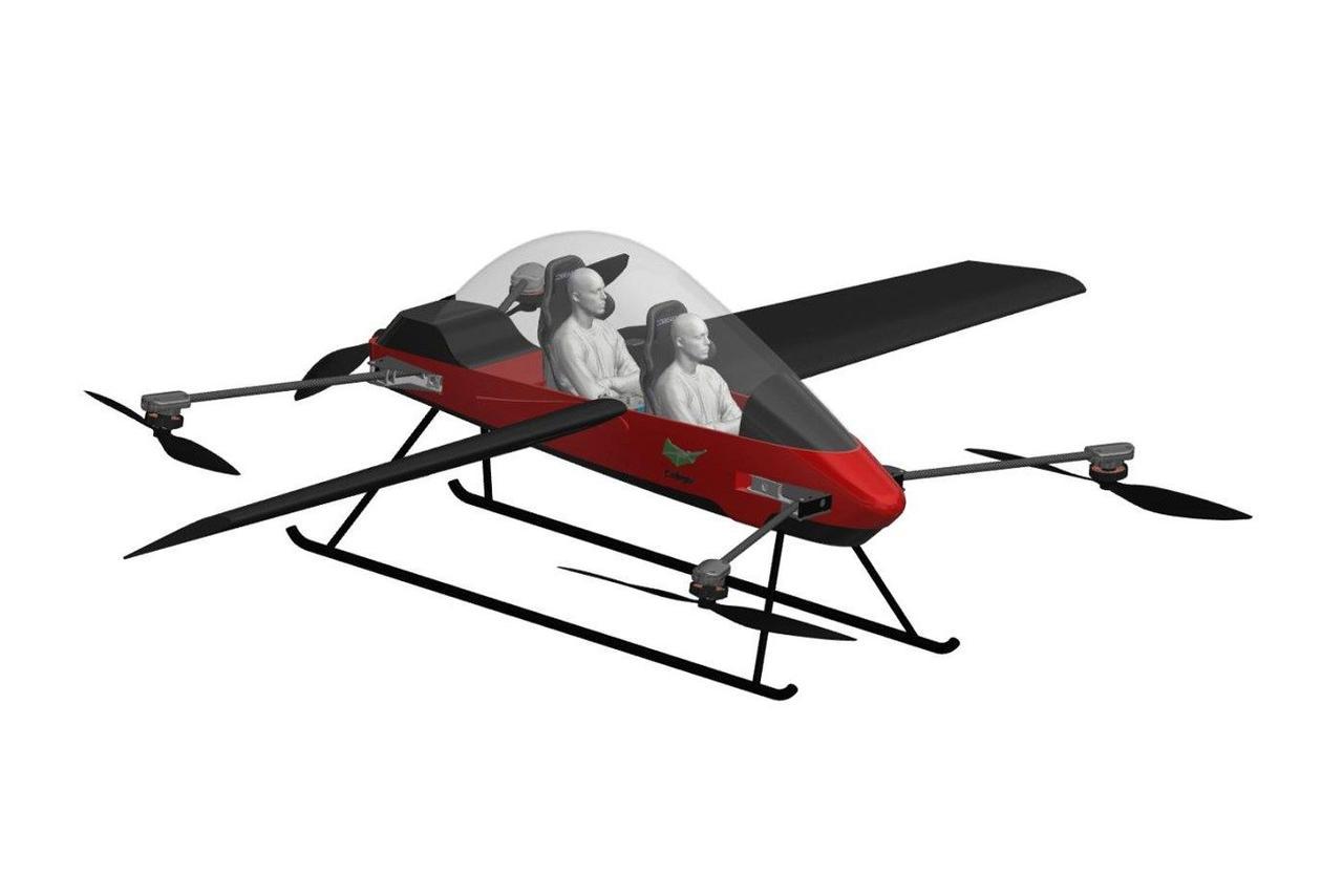 Дрон со свободным крылом ARcopter: вертикальный взлет как у вертолета, а скорость полета самолета
