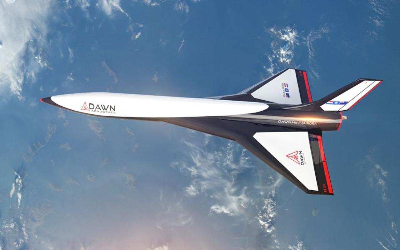 Суборбитальный многоразовый космический самолет Dawn Aerospace Mk-II совершил свои первые полеты