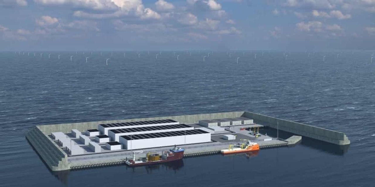 Дания построит в Северном море остров «зеленой энергии» за 34 миллиарда долларов