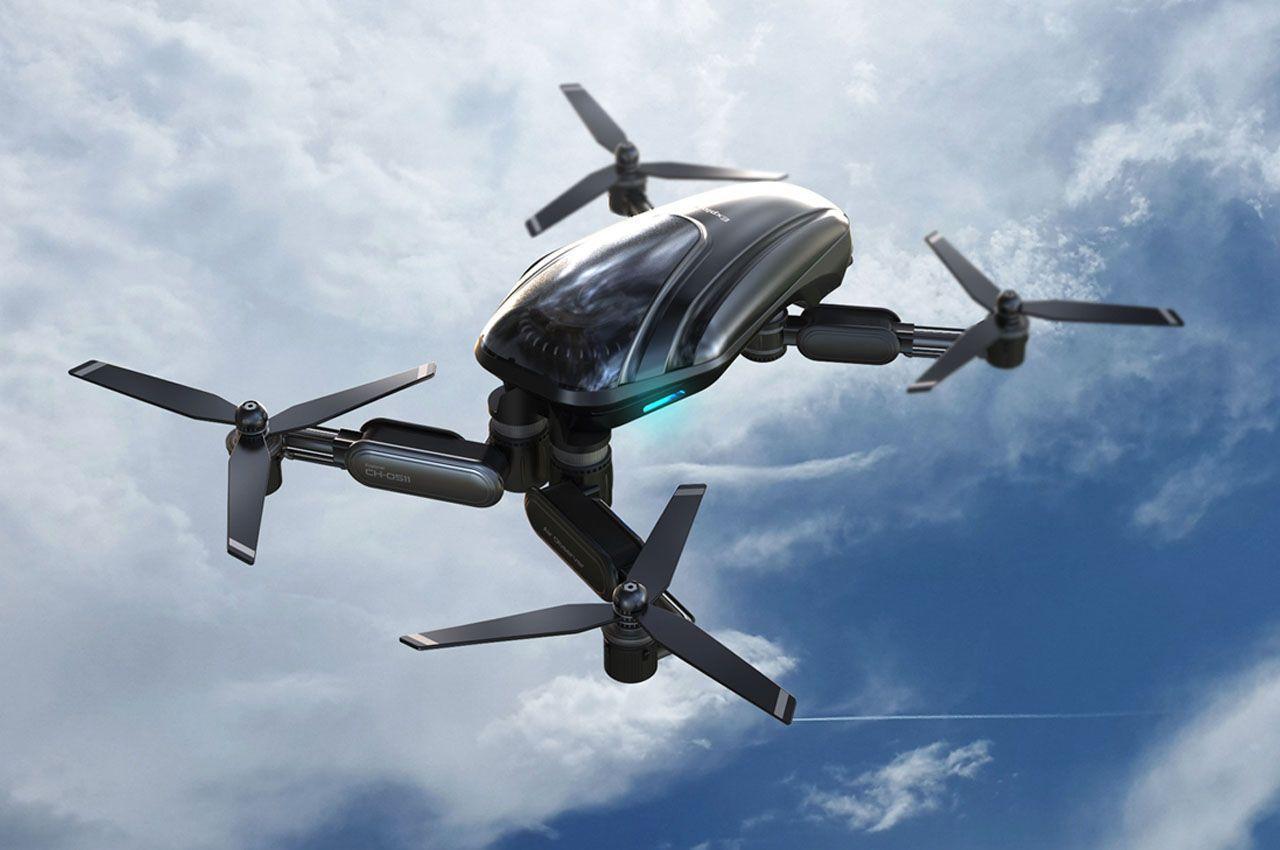 Сверхлегкий дрон Explorer предназначен для работы в экстремальных условиях
