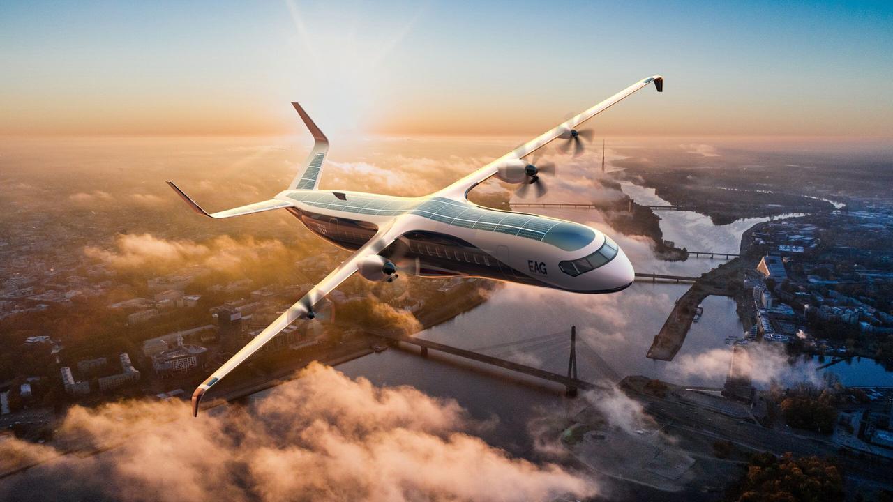 В Британии создают первый водородный пассажирский самолет на 90 мест и дальностью полета свыше 2000 км