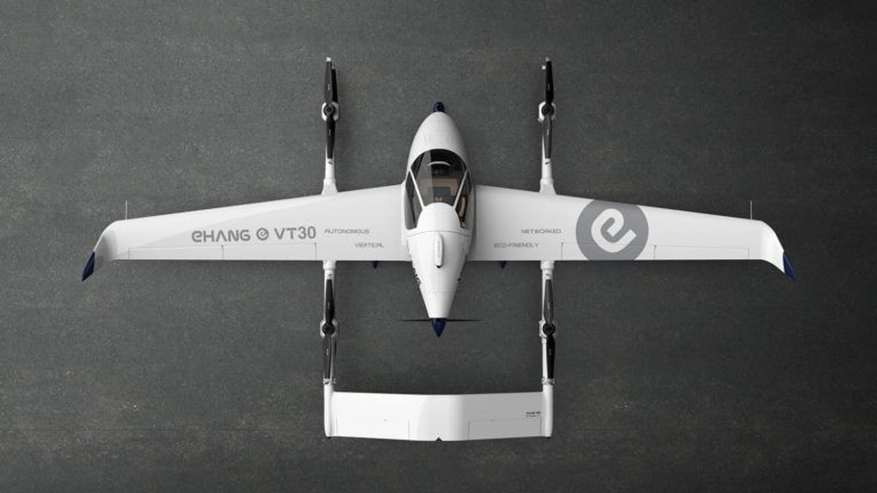 Автономное воздушное такси eHang обещает огромный запас полета до 300 км