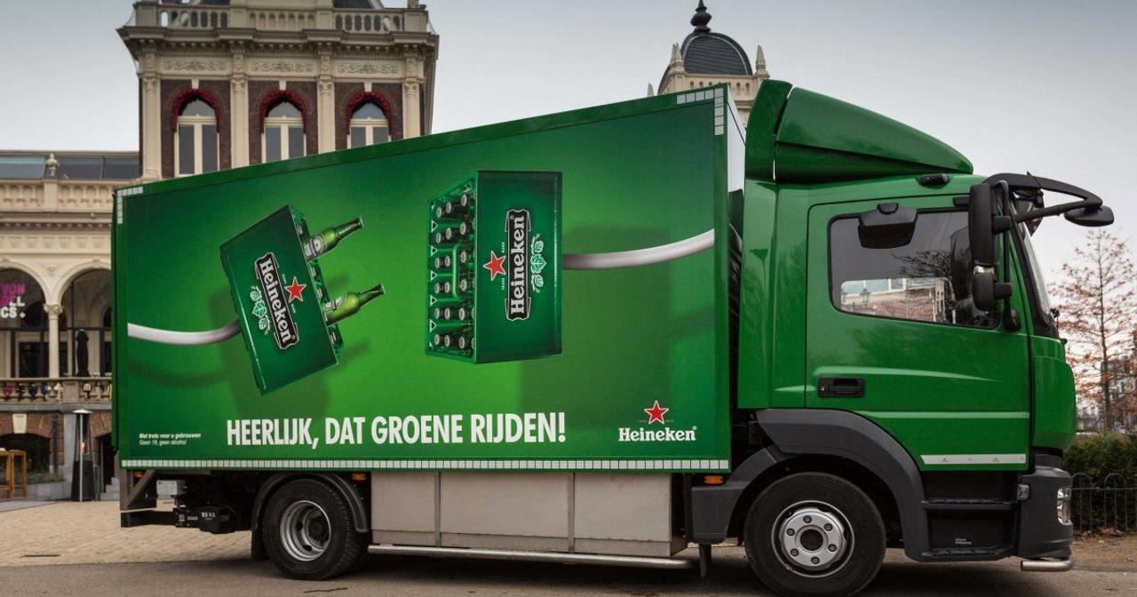 Heineken превращает пиво в экологически чистую энергию