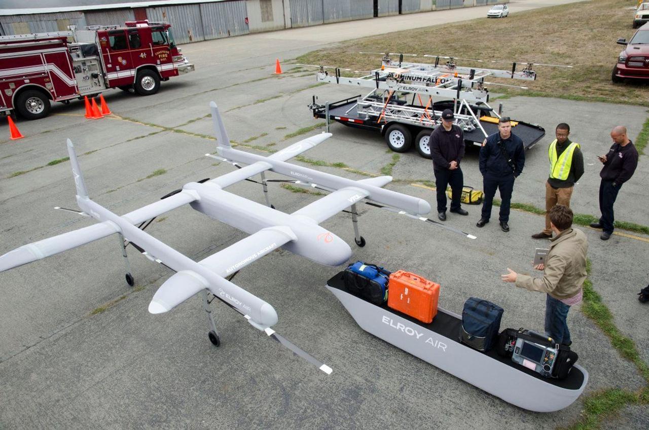 Грузовой дрон Elroy Air сможет доставить груз на расстояние до 480 км и обходиться без помощи людей