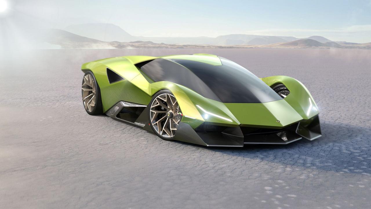 Концепт гиперкара Lamborghini Matadaor сочетает в себе все лучшие элементы из прошлого и современные технологии