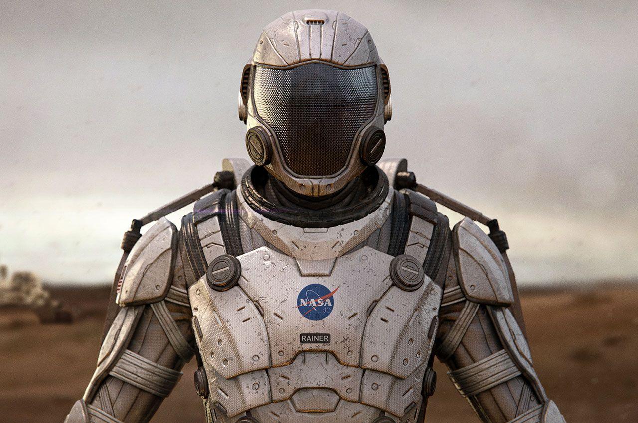 Скафандр-экзоскелет нового поколения для покорения и исследования планет