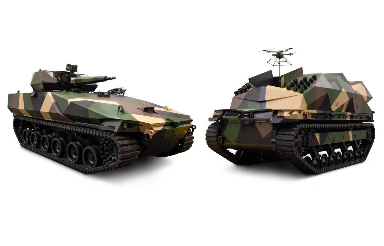 Боевые роботы Combat Vehicle повышают боевую эффективность и мобильность на поле боя
