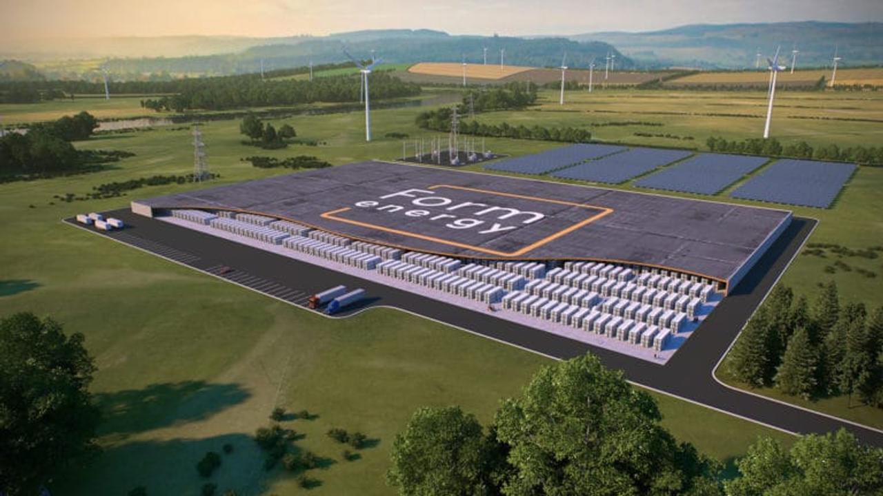 100-часовая железно-воздушная батарея Form Energy в 10 раз дешевле литиевой