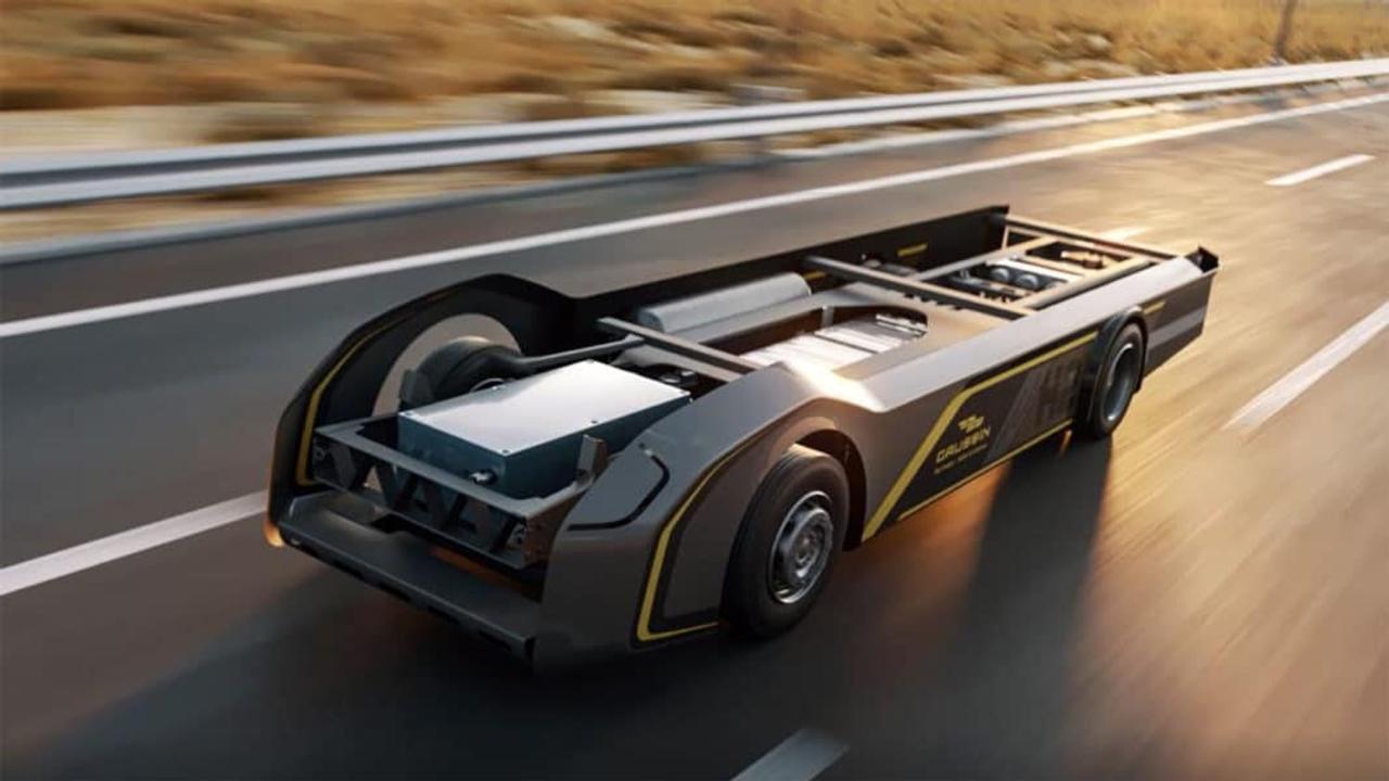 Компания Gaussin представила универсальную платформу для водородных грузовиков