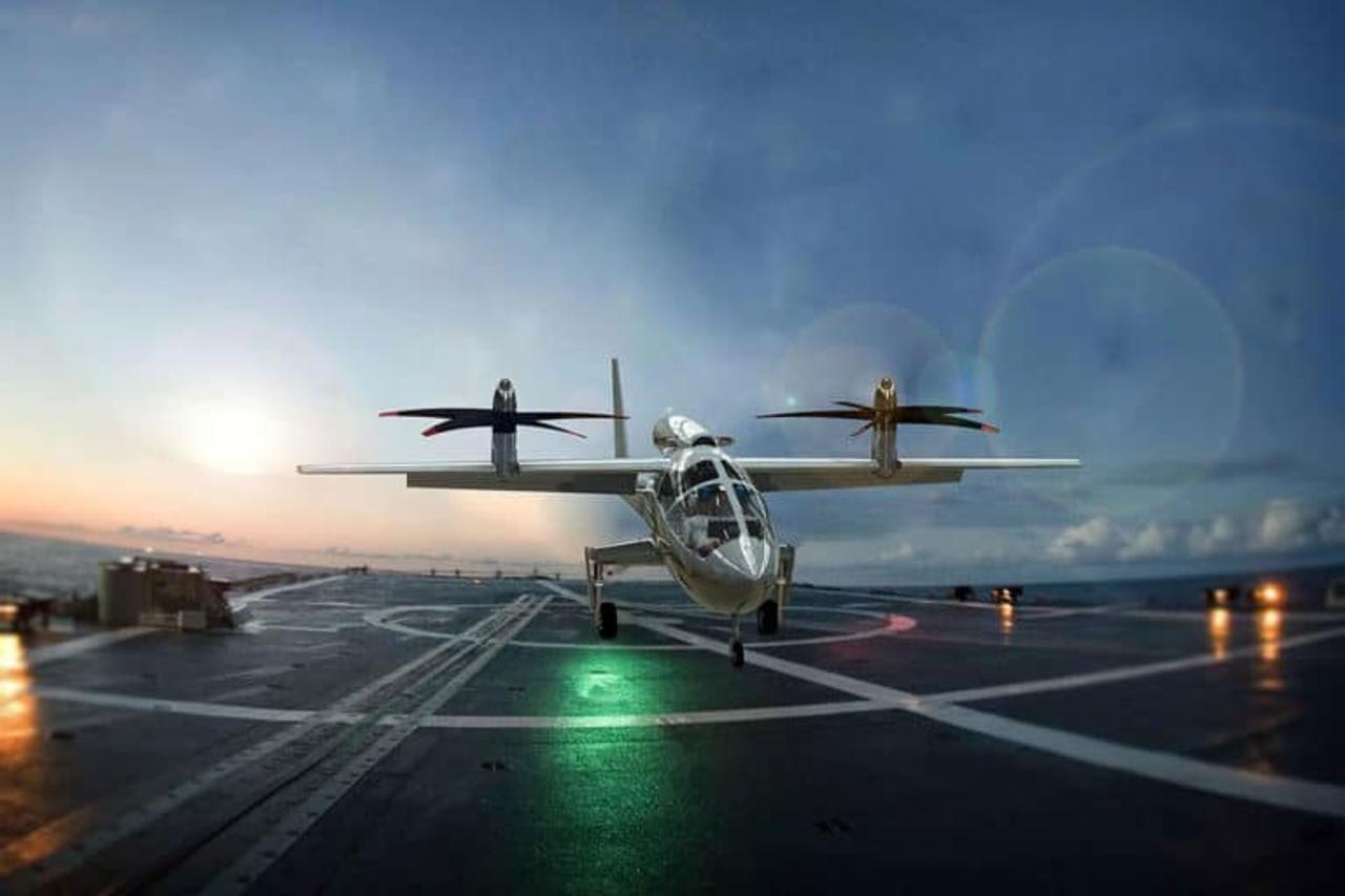 Концепт яхтенного электрического самолета Pegasus eVTOL будет иметь дальность полета 2222 км