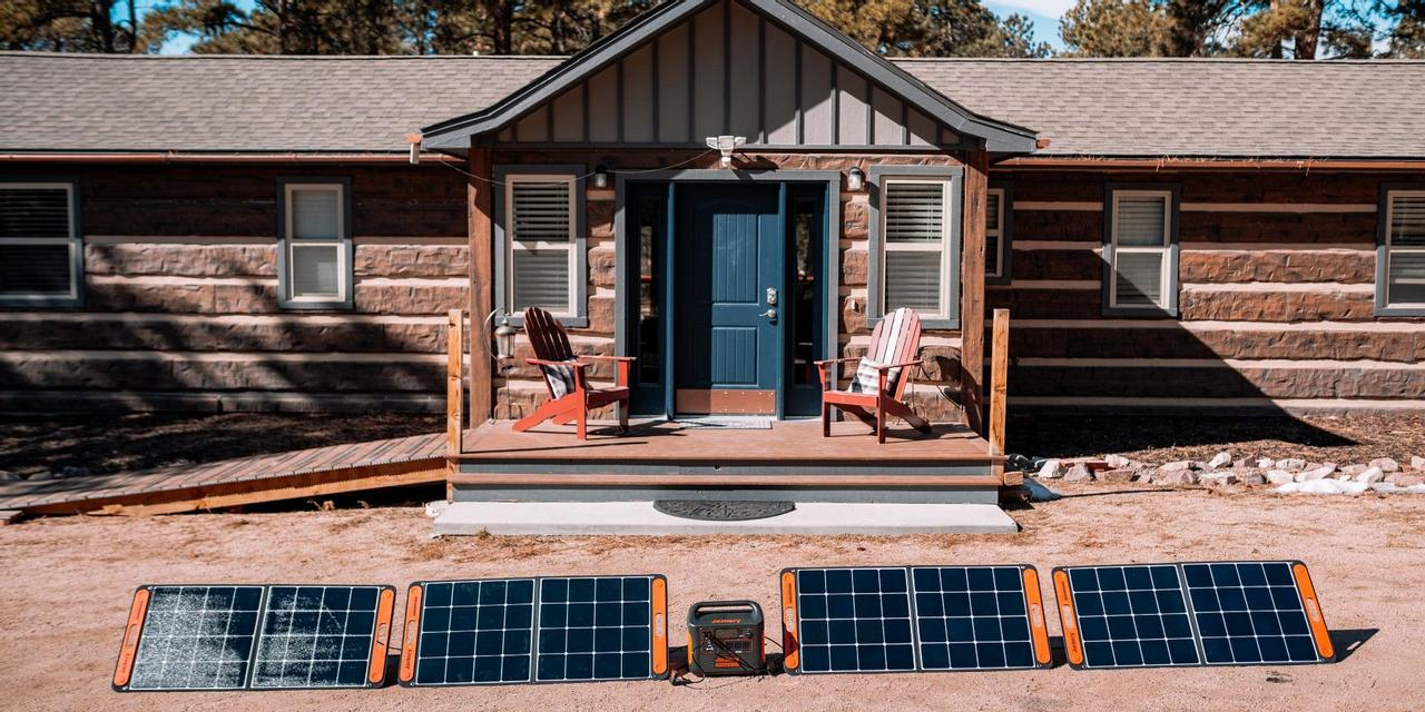 Обзор: Солнечный генератор Jackery Explorer 1500 в комплекте с солнечными панелями SolarSaga 100 Вт