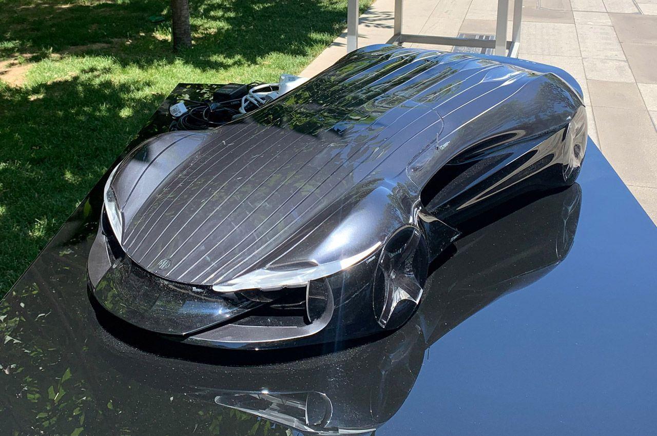 Новый образец автомобиля создан по технологии органического дизайна